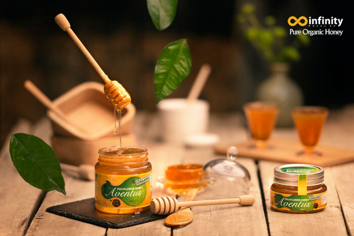 Organic Polyflower Honey